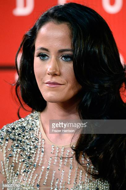 Jenelle Evans attends the 2015 MTV Video Music Awards at Microsoft Theater on August 30 2015 in Los Angeles California