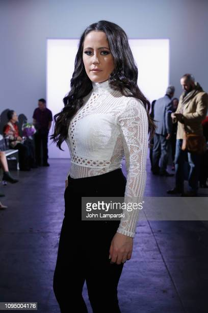 Jenelle Evans attends the Indonesian Diversity FW19 Collections 2Madison Avenue Alleira Batik Dian Pelangi and Itang Yunas front row during New York...