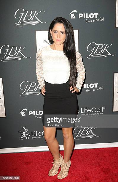 Jenelle Evans is seen at GBK's New York Fashion Week Style Lounge 2015 Day 2 on September 15 2015 in New York City