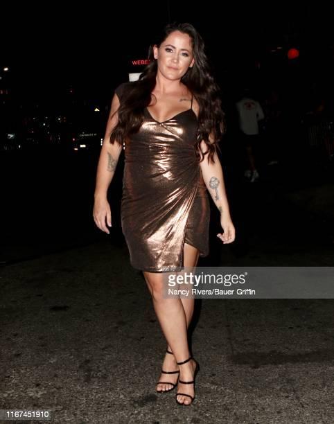 Jenelle Evans is seen on September 11 2019 in New York City