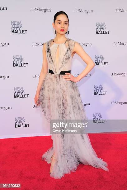 Jenelle Manzi attends New York City Ballet 2018 Spring Gala at David H Koch Theater Lincoln Center on May 3 2018 in New York City