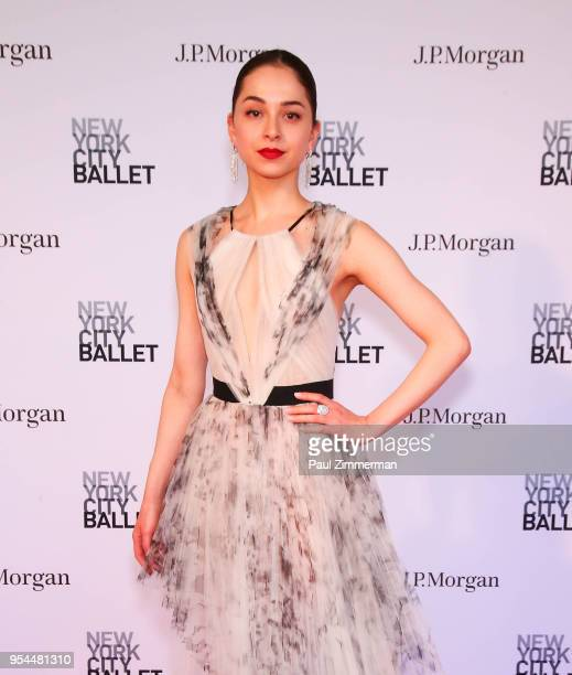 Jenelle Manzi attends the 2018 New York City Ballet Spring Gala at David H Koch Theater Lincoln Center on May 3 2018 in New York City