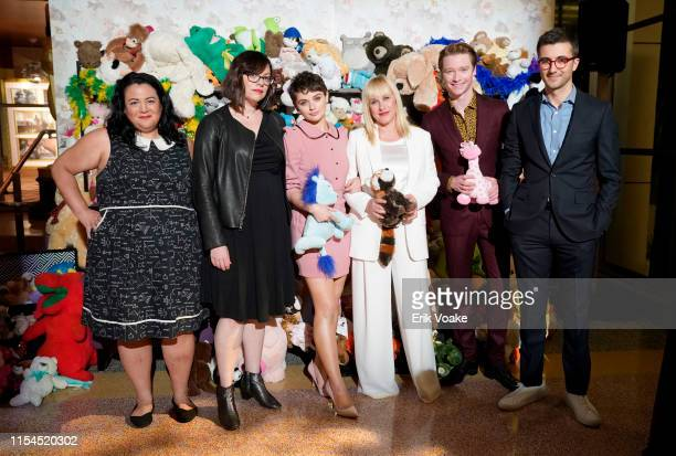 Jenelle Riley Michelle Dean Joey King Patricia Arquette Calum Worthy and Nick Antosca attend Hulu's The Act FYC event at Linwood Dunn Theater at the...