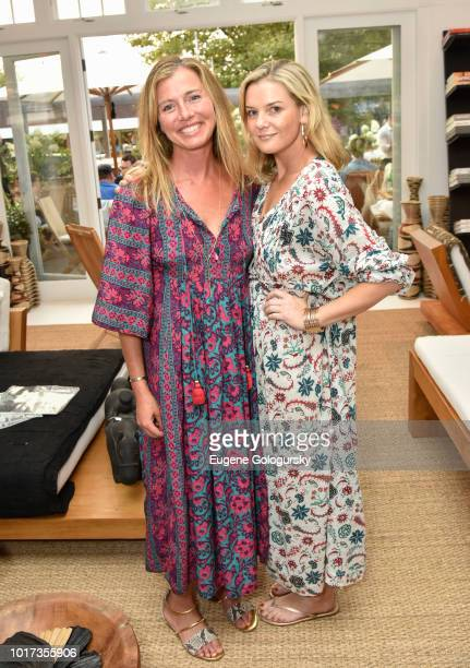 Jenene Ronick and Anna Weinberg attend the Hamptons Magazine And Urban Zen x Tutto il Giorno host a VIP Dinner at Urban Zen x Tutto il Giorno on...