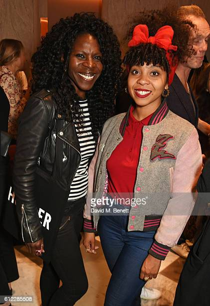 Jeni Cook and Hollie Cook attend the launch of SX Rankin a new fragrance collaboration between photographer Rankin and fragrance designer Azzi...