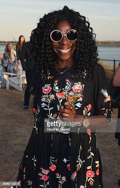 Jeni Cook attends Krug Island a food and music experience hosted by Krug champagne on September 1 2016 in Maldon England