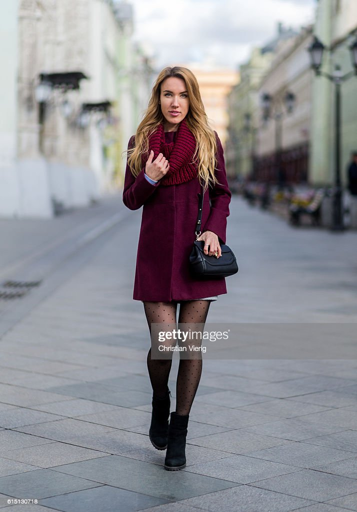 Street Style Day 4 - Mercedes-Benz Fashion Week Russia : News Photo