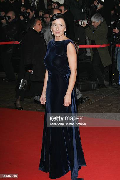 Jenifer Bartoli arrives at NRJ Music Awards at the Palais des Festivals on January 23 2010 in Cannes France