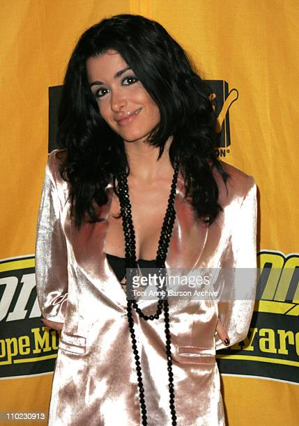Jenifer Bartoli during 2004 MTV European Music Awards Arrivals at Tor di Valle in Rome Italy