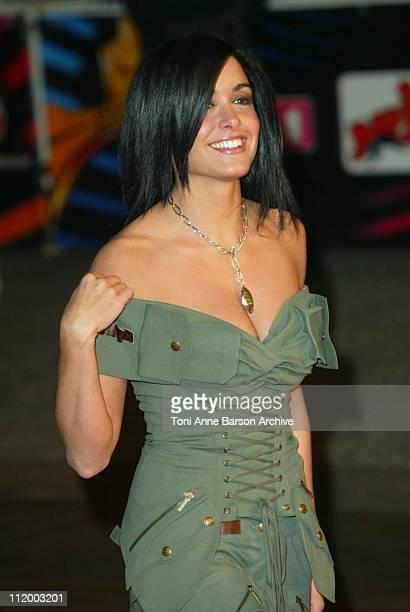 Jenifer Bartoli during NRJ Music Awards 2003 Cannes Arrivals at Palais des Festivals in Cannes France