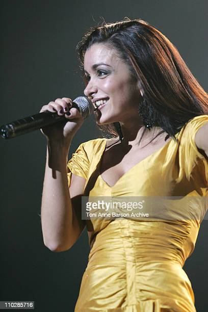 Jenifer Bartoli during 'The 2006 Night of The Proms' at Nikaia in Nice France