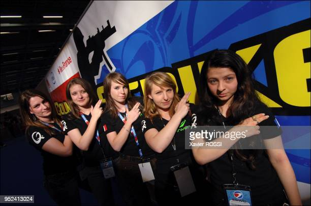 Jenifer Deborah Celine Elodie and Mathilde are part of the French team 'Orbital Girls' Together they are French vicechampions 2007 they compete here...