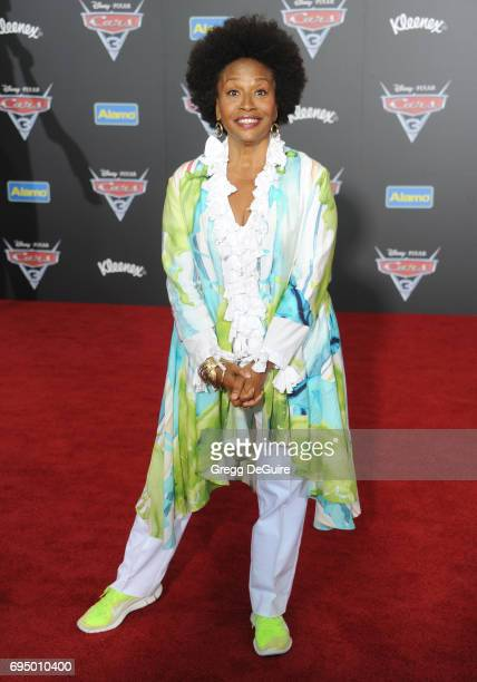 Jenifer Lewis arrives at the premiere of Disney And Pixar's Cars 3 at Anaheim Convention Center on June 10 2017 in Anaheim California
