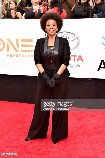 Jenifer Lewis attends the 49th NAACP Image Awards at Pasadena Civic Auditorium on January 15 2018 in Pasadena California