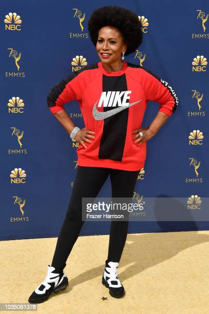 Jenifer Lewis attends the 70th Emmy Awards at Microsoft Theater on September 17 2018 in Los Angeles California