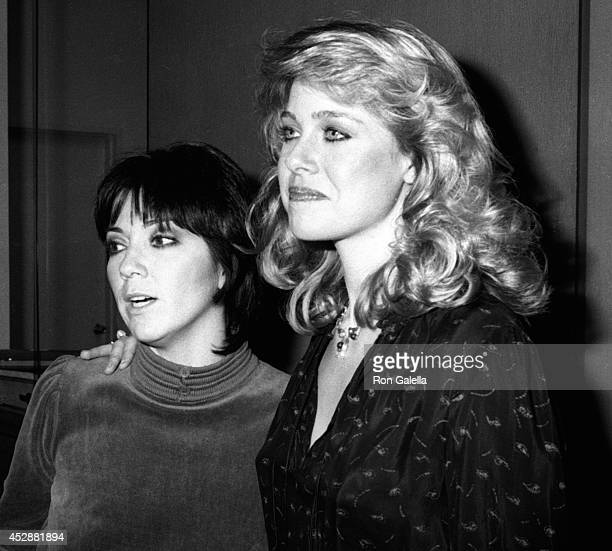 Jenilee Harrison and Joyce DeWitt attend the screening of 'Angel Dusted' on February 13 1981 at the Director's Guild Theater in Hollywood California
