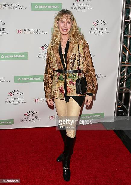 Jenilee Harrison attends the 7th Annual Unbridled Eve Derby Prelude Party held at the London Hotel on January 7, 2016 in West Hollywood, California.