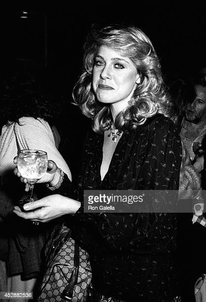 Jenilee Harrison attends the screening of 'Angel Dusted' on February 13 1981 at the Director's Guild Theater in Hollywood California