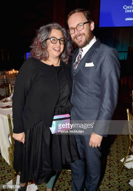 Jenji Kohan and Christopher Noxon attend the Child Mind Institute 2017 Child Advocacy Award Dinner at Cipriani 42nd Street on November 20 2017 in New...