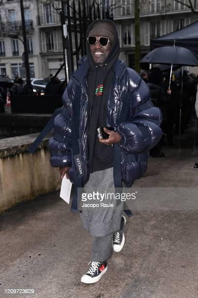 Jenke Ahmed Tailly attends the Valentino show as part of the Paris Fashion Week Womenswear Fall/Winter 2020/2021 on March 01 2020 in Paris France