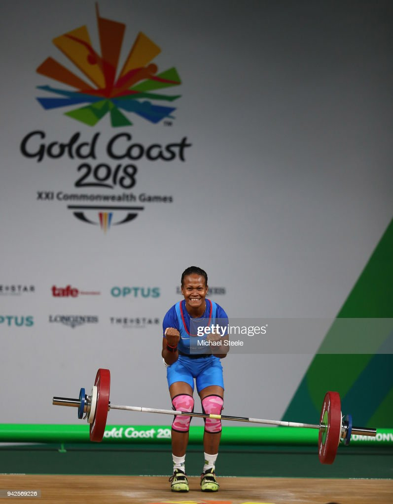 Weightlifting - Commonwealth Games Day 2 : News Photo