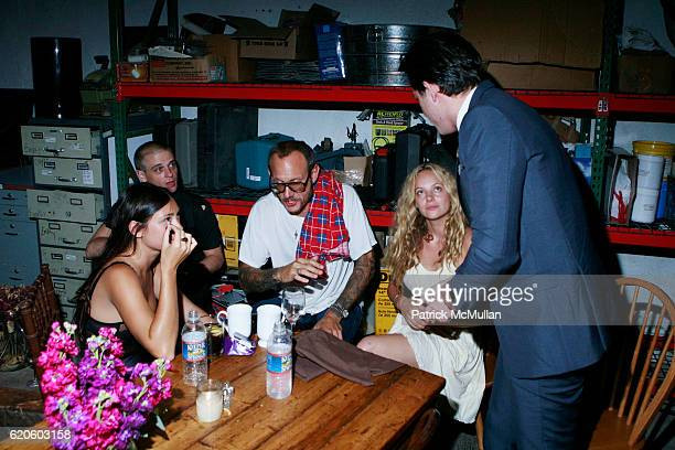 Jenn Brill guest Terry Richardson Bijou Phillips and Mark Ronson attend ANOTHER MAGAZINE Dinner With BAMFORD and VILLENCY EMERGING FASHION FUND at...
