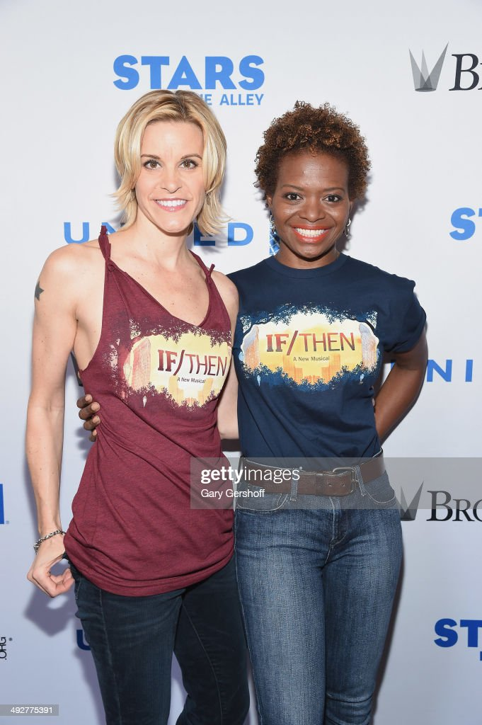 STARS IN THE ALLEY, Presented By United Airlines And Produced By The Broadway League : News Photo