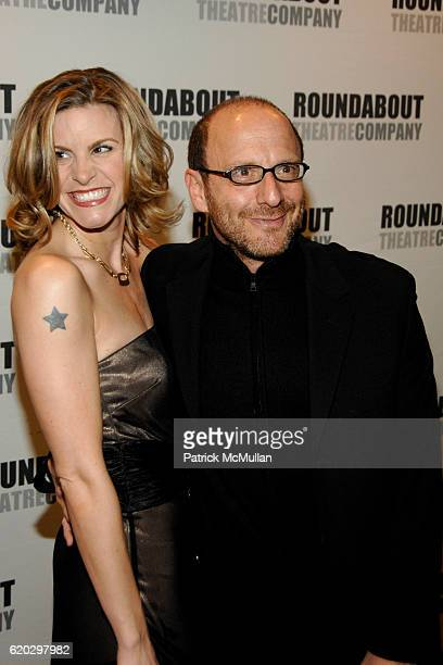 Jenn Colella and Lonny Price attend Arrivals for Roundabout Theater Company's Spring Gala Feeling Groovy at Roseland Ballroom on April 7 2008 in New...