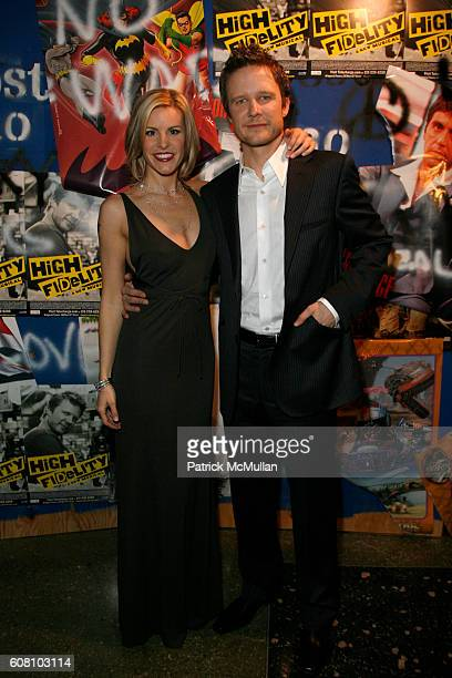 Jenn Colella and Will Chase attend After Party for the Broadway Opening Night of the New Musical HIGH FIDELITY at Roseland on December 7 2006 in New...