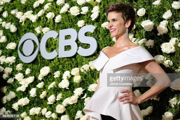 Jenn Colella attends the 2017 Tony Awards at Radio City Music Hall on June 11 2017 in New York City