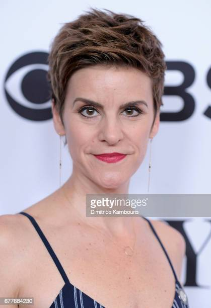 Jenn Colella attends the 2017 Tony Awards Meet The Nominees Press Junket at the Sofitel New York on May 3 2017 in New York City
