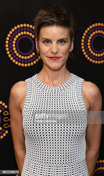 Jenn Colella attends the 68th Annual Outer Critics Circle Theatre Awards at Sardi's on May 24 2018 in New York City