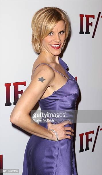 Jenn Colella attends the Broadway Opening Night Performance after party for 'IF/THEN' at the Edison Ballroom on March 30 2014 in New York City