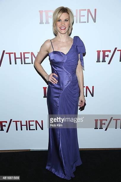 Jenn Colella attends the If/Then Broadway Opening Night after party at Richard Rodgers Theatre on March 30 2014 in New York City