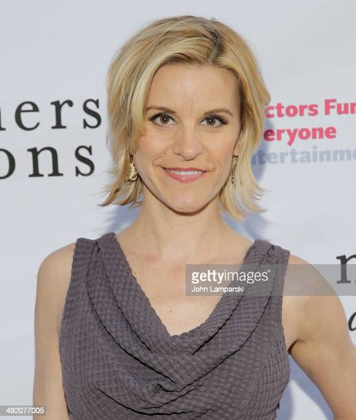 Jenn Colella attends the Mothers And Sons Actors Fund Special Performance at John Golden Theatre on May 18 2014 in New York City