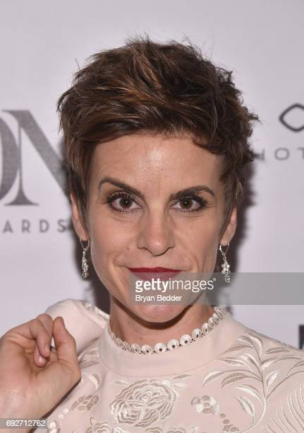 Jenn Colella attends the Tony Honors Cocktail Party presenting the 2017 Tony Honors for excellence in the theatre and honoring the 2017 special award...