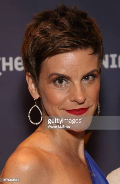 Jenn Colella during the arrivals for the 2018 Drama Desk Awards at Town Hall on June 3 2018 in New York City