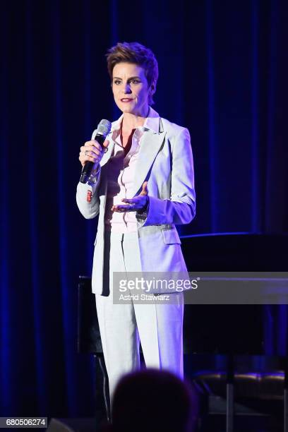 Jenn Colella on stage at Family Equality Council's Night at the Pier at Pier 60 on May 8 2017 in New York City
