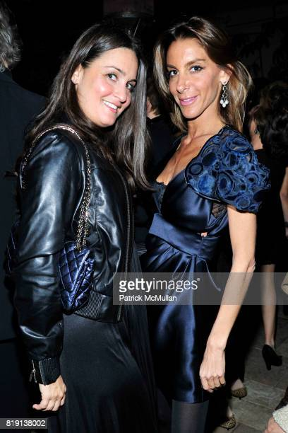 Jenn Goldman Dori Cooperman attend NICOLAS BERGGRUEN's 2010 Annual Party at the Chateau Marmont on March 3 2010 in West Hollywood California