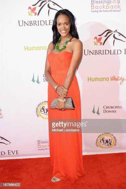 Jenn Hoffman attends the Unbridled Eve Gala for the 139th Kentucky Derby at The Galt House Hotel Suites' Grand Ballroom on May 3 2013 in Louisville...