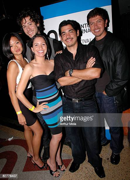 Jenn Liu Hale Appleman Karolin Luna director Nick Oceano and Alex Castillo attend the TIFF Underground held at The Drake Hotel during the 2008...