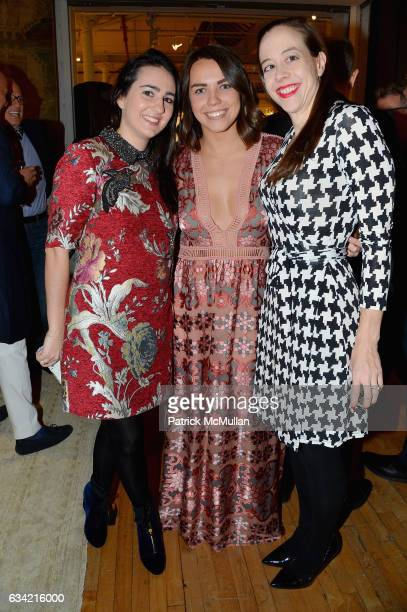 Jenn Murphy Lauren Doherty and Michelle Axt attend the ABC Carpet Home and Obeetee Celebrate the Launch of the Tarun Tahiliani Rug Collection at ABC...