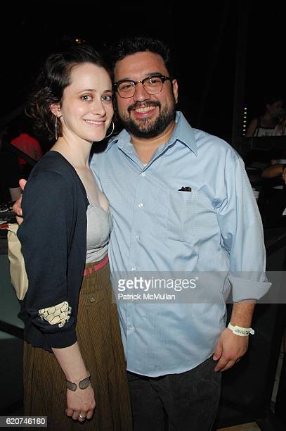 Jenn Schatz and Horatio Sanz attend MAXIM hosts STEP BROTHERS private screening and after party at AMC Loews Lincoln Square on July 21 2008 in New...