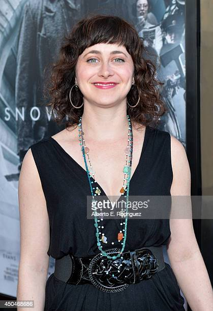 Jenn Schatz attends the opening night premiere of Snowpiercer during the 2014 Los Angeles Film Festival at Regal Cinemas LA Live on June 11 2014 in...