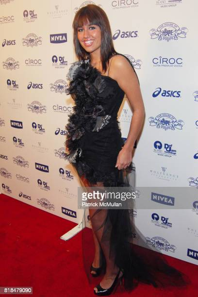 """Jenna Andrews attend Island Def Jam and House of Hype Celebrate Antonio """"LA"""" Reid's Annual Post Grammy Soiree at Wolfgang's Steakhouse on February 8..."""
