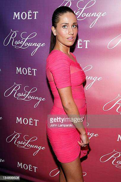Jenna Andrews attends the Rose Lounge kick off at Ink 48 on June 15 2010 in New York City