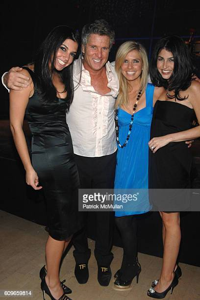Jenna Battino, Donny Deutsch, Stephanie Jones and Lisa Goldman attend DONNY DEUTSCH'S Birthday Celebration at Jazz on December 15, 2007 in New York...