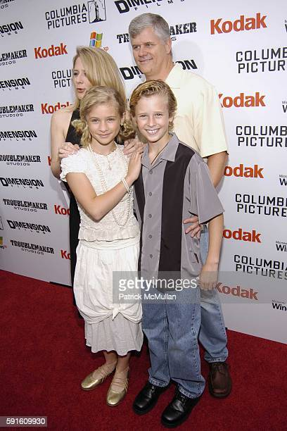 Jenna Boyd and Cayden Boyd attend 'The Adventures of Shark Boy and Lava Girl 3D' Los Angeles Premiere at El Capitian Theater on June 4 2005 in...