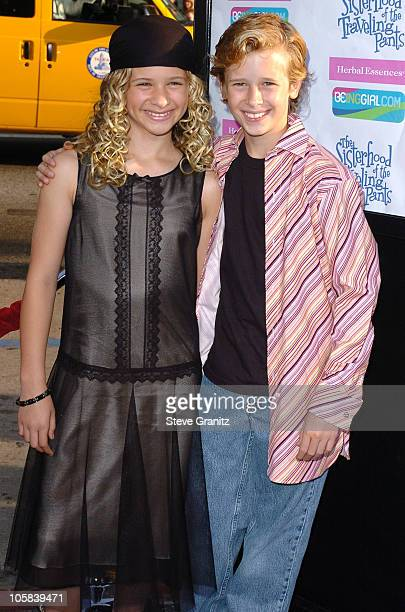 Jenna Boyd and Cayden Boyd during 'The Sisterhood of the Traveling Pants' Los Angeles Premiere at Grauman's Chinese Theatre in Hollywood California...