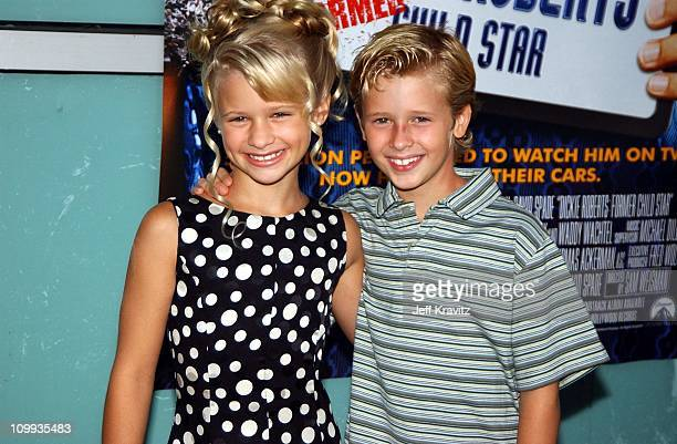 Jenna Boyd and Cayden Boyd during World Premiere of Dickie Roberts Former Child Star at Cinerama Dome in Hollywood California United States